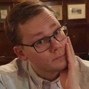 Johan Gustafsson, webbutvecklare
