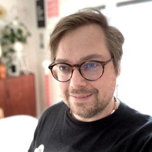 Kristofer Norén, fullstackutvecklare.